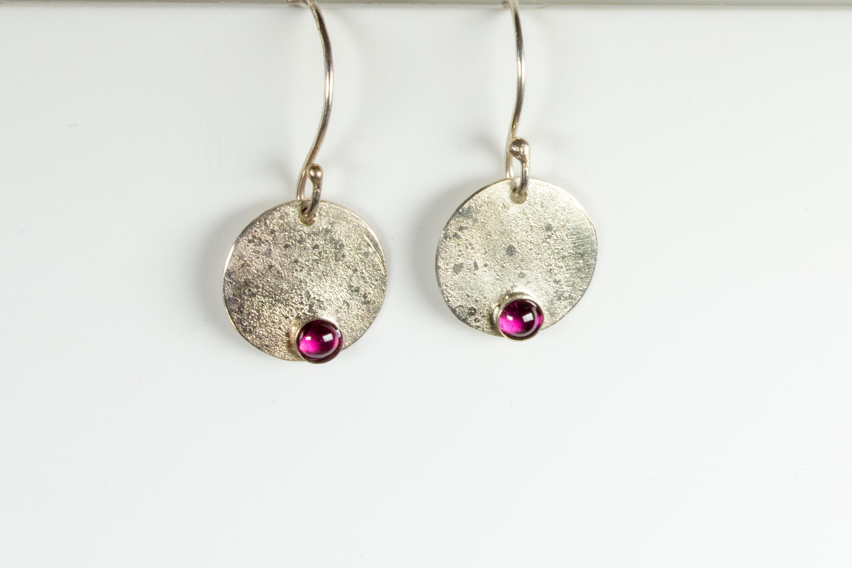 earrings round drop RG