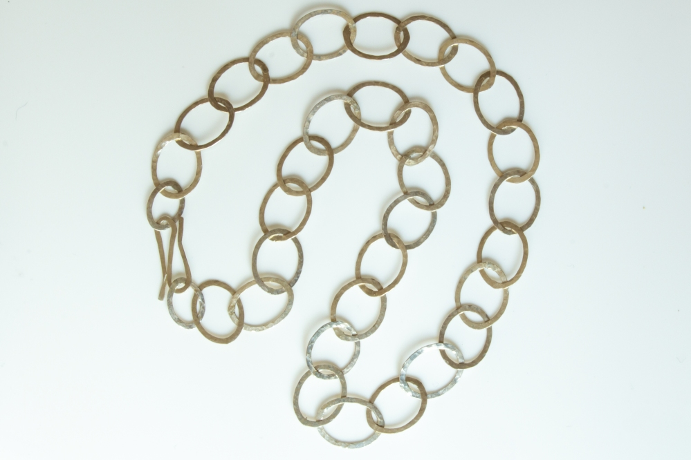 long oval chain
