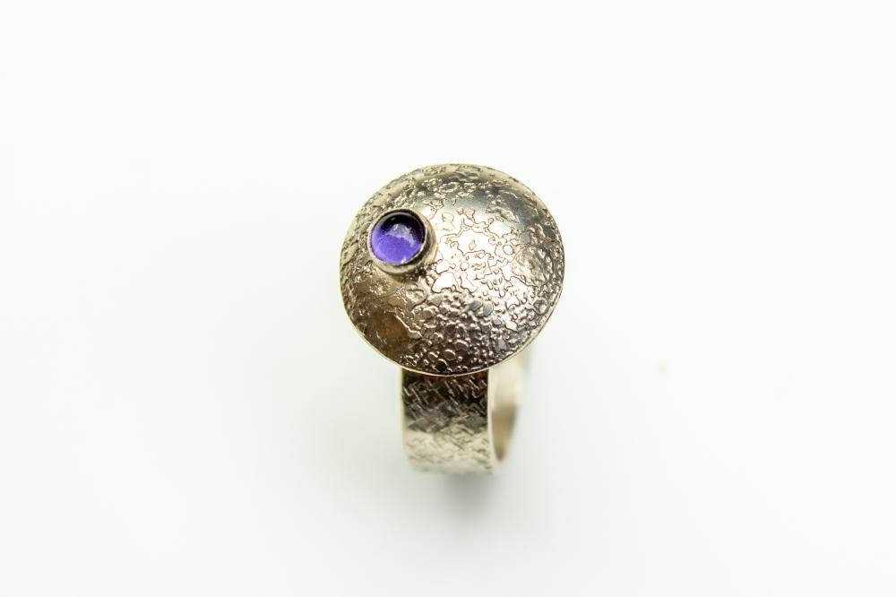 ring flying saucer iolite 1