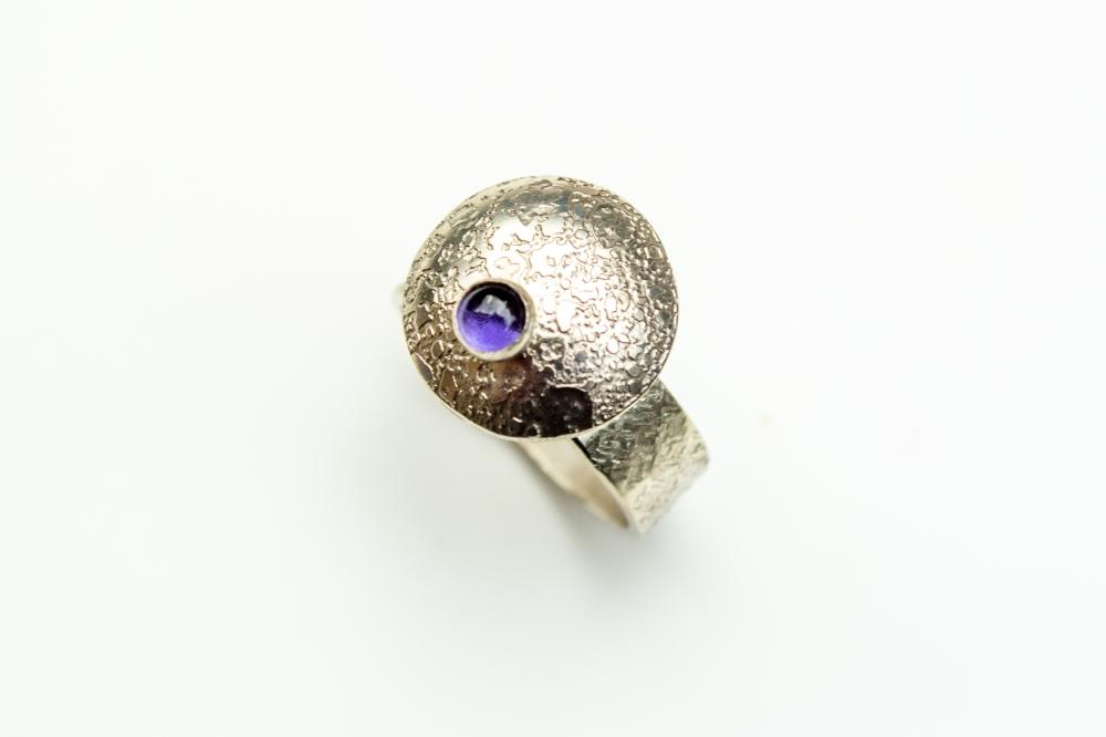 ring flying saucer iolite 2