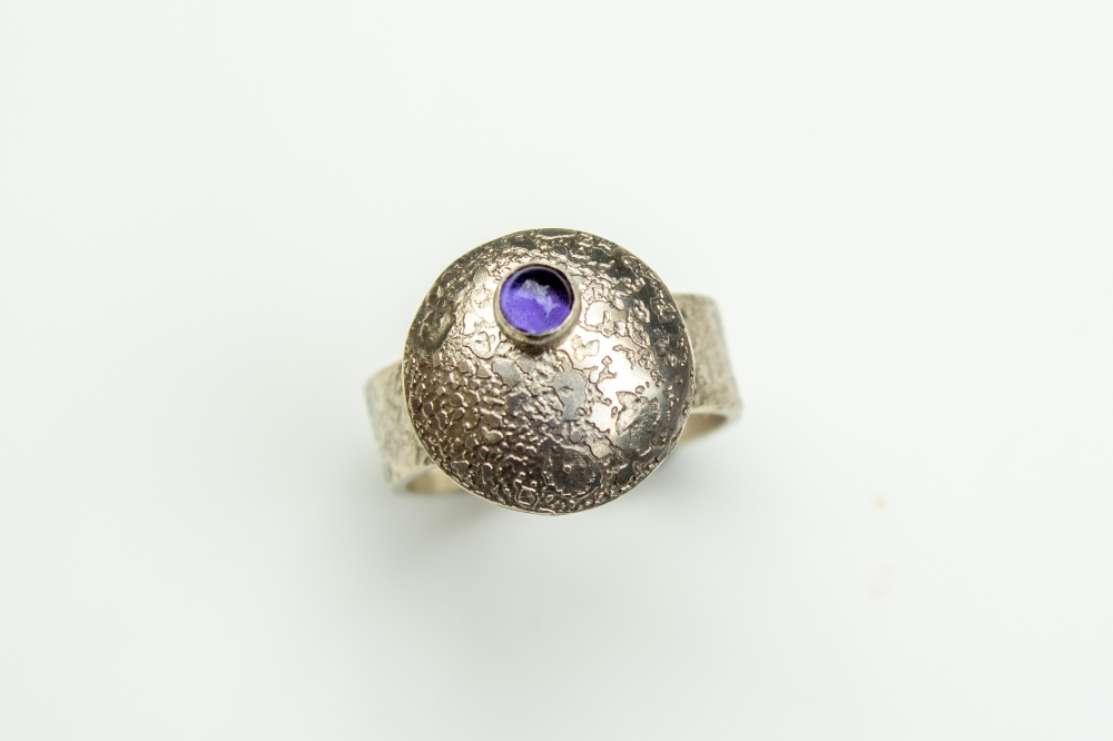 ring flying saucer iolite 4