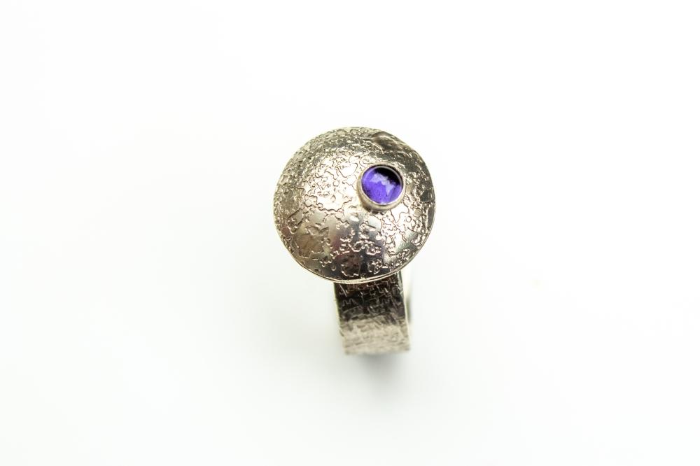 ring flying saucer iolite 5