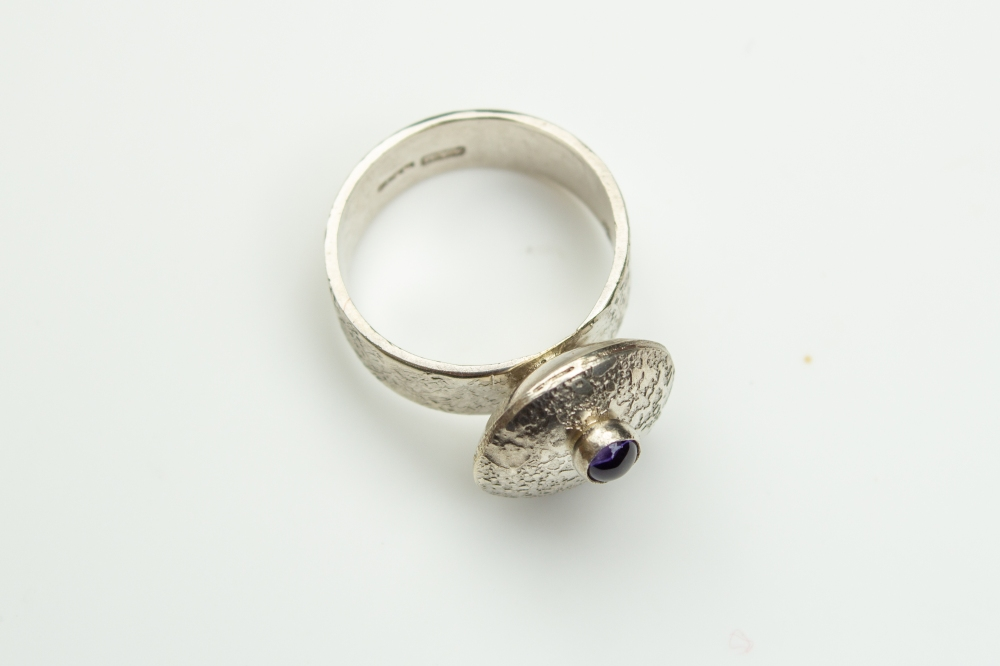 ring flying saucer iolite 6