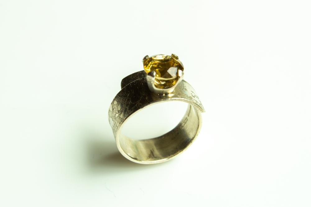 ring wrap citrine 2
