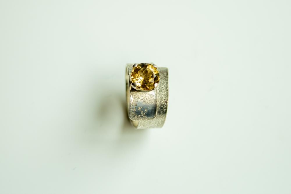 ring wrap citrine 3