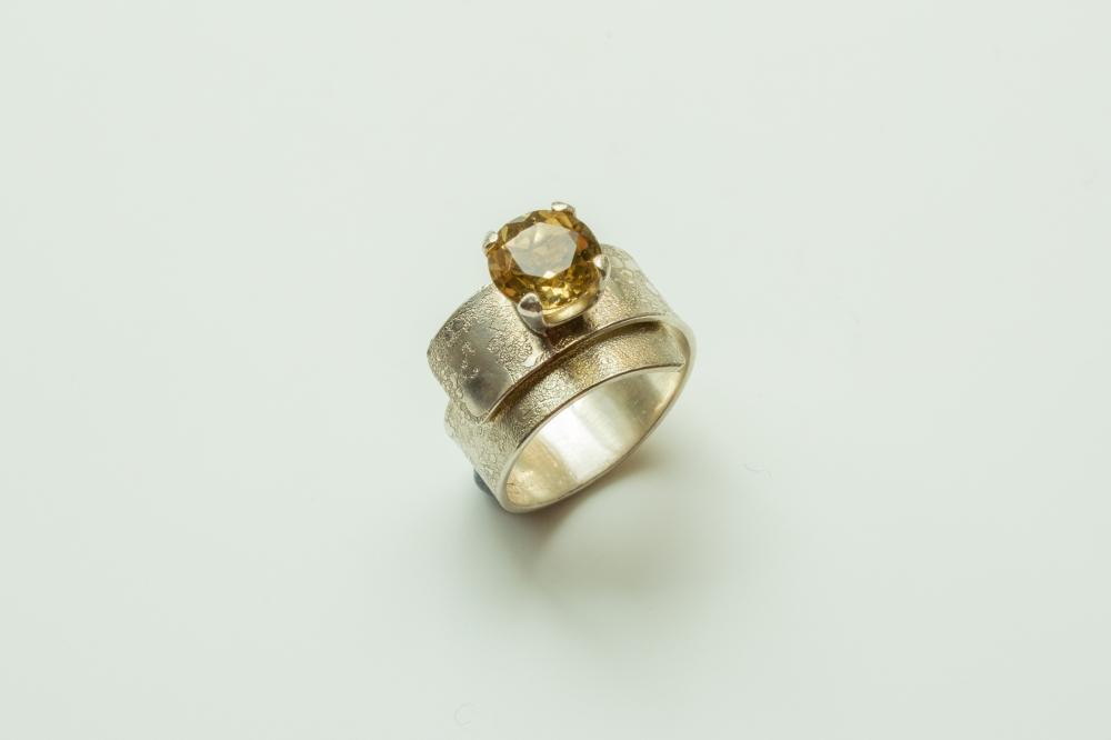 ring wrap citrine 8