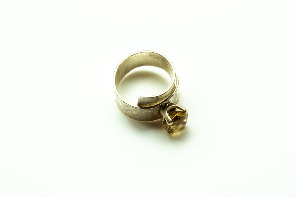 ring wrap citrine 9