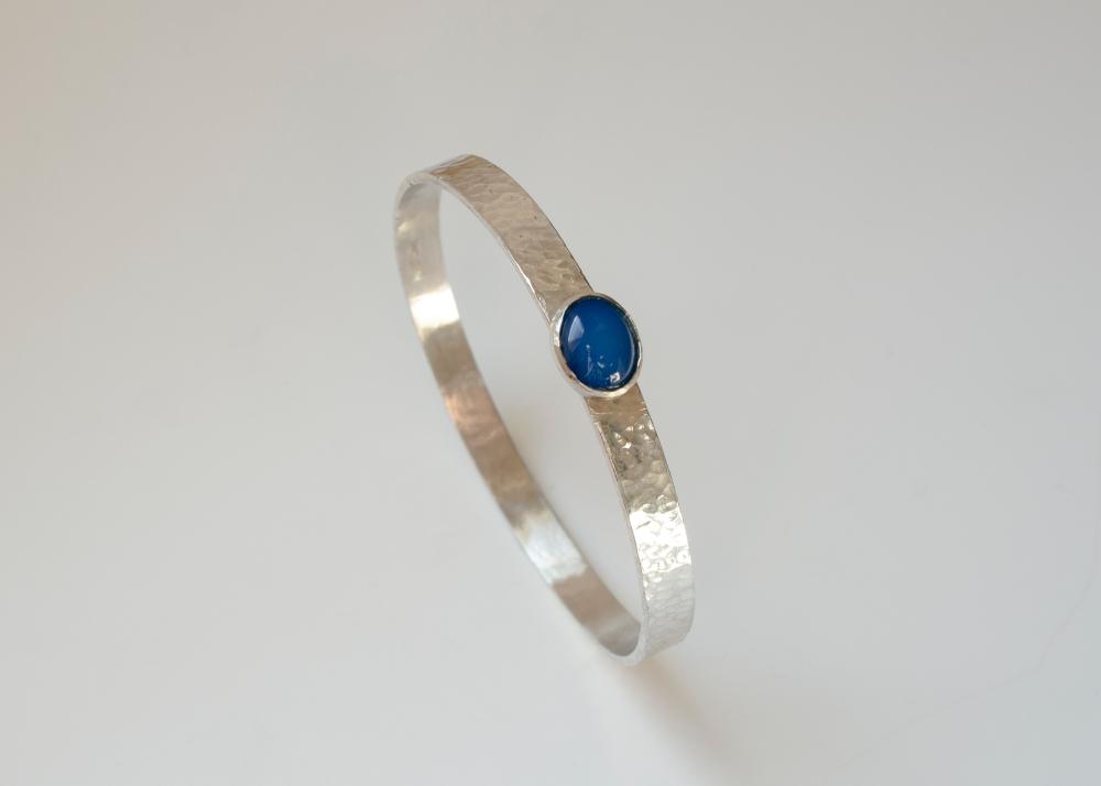 bangle blue stone 1