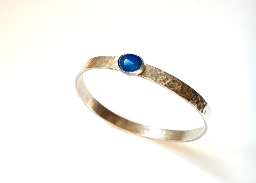 bangle blue stone 4