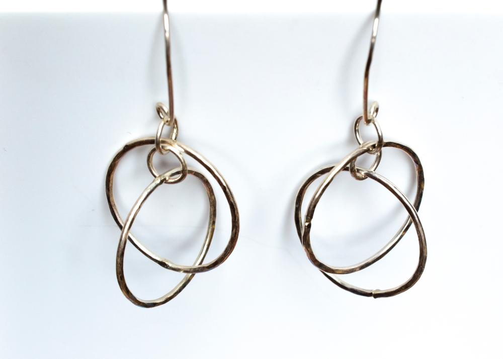 earrings dancing hoops 2