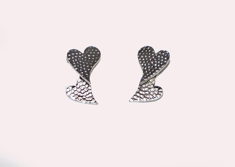 earrings hearts small 2