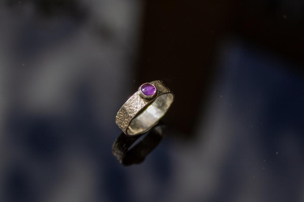 ring amethyst small 2