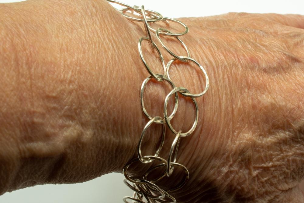 bracelet double small worn