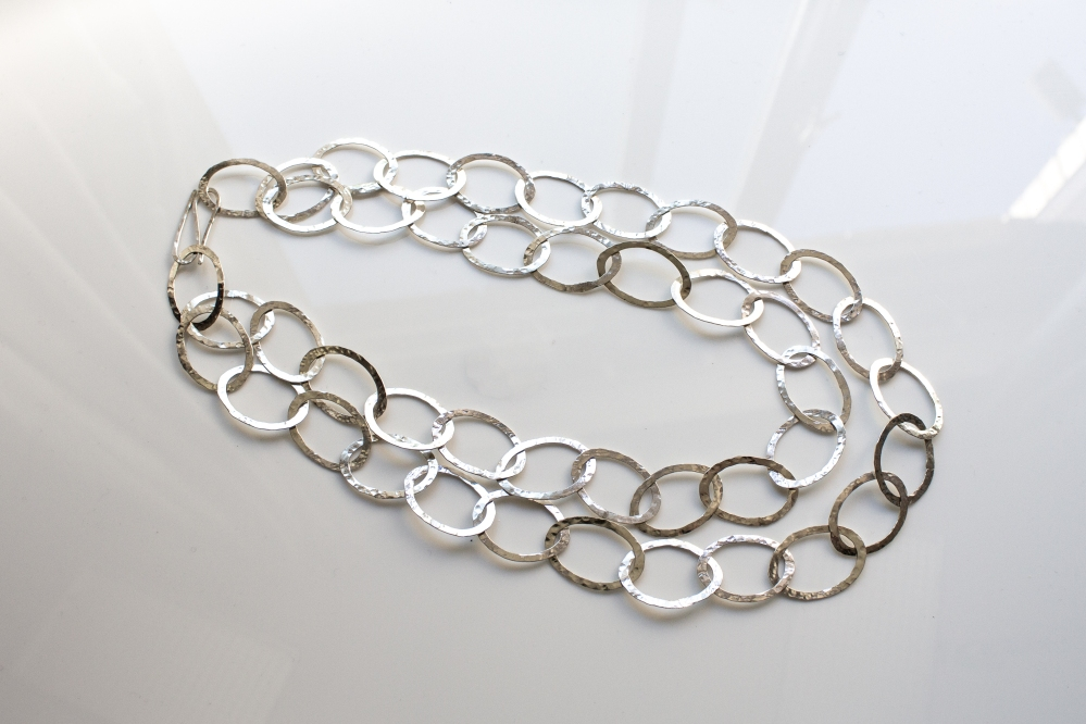 chain oval double