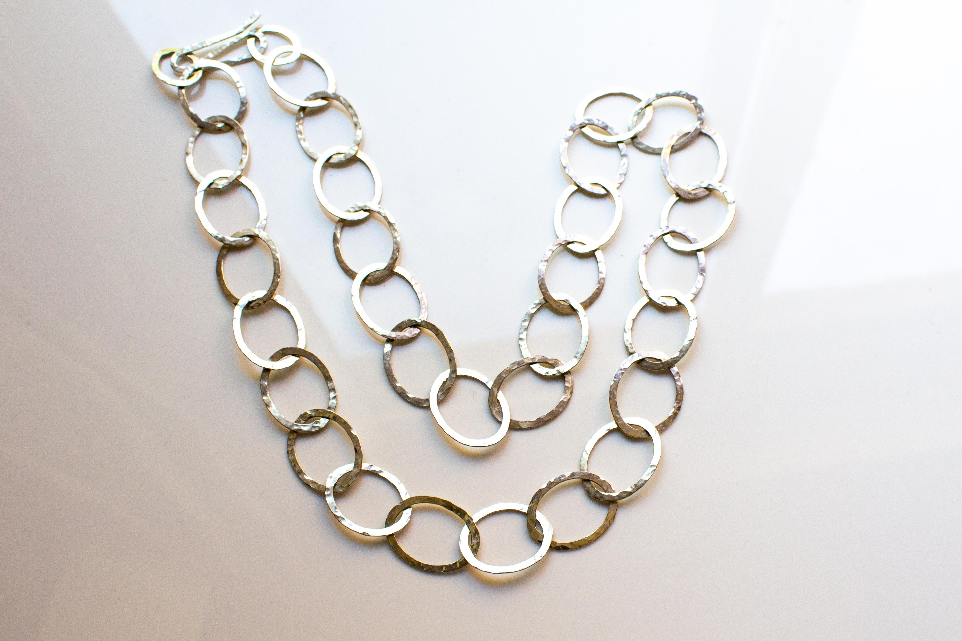 chain oval medium 2 small