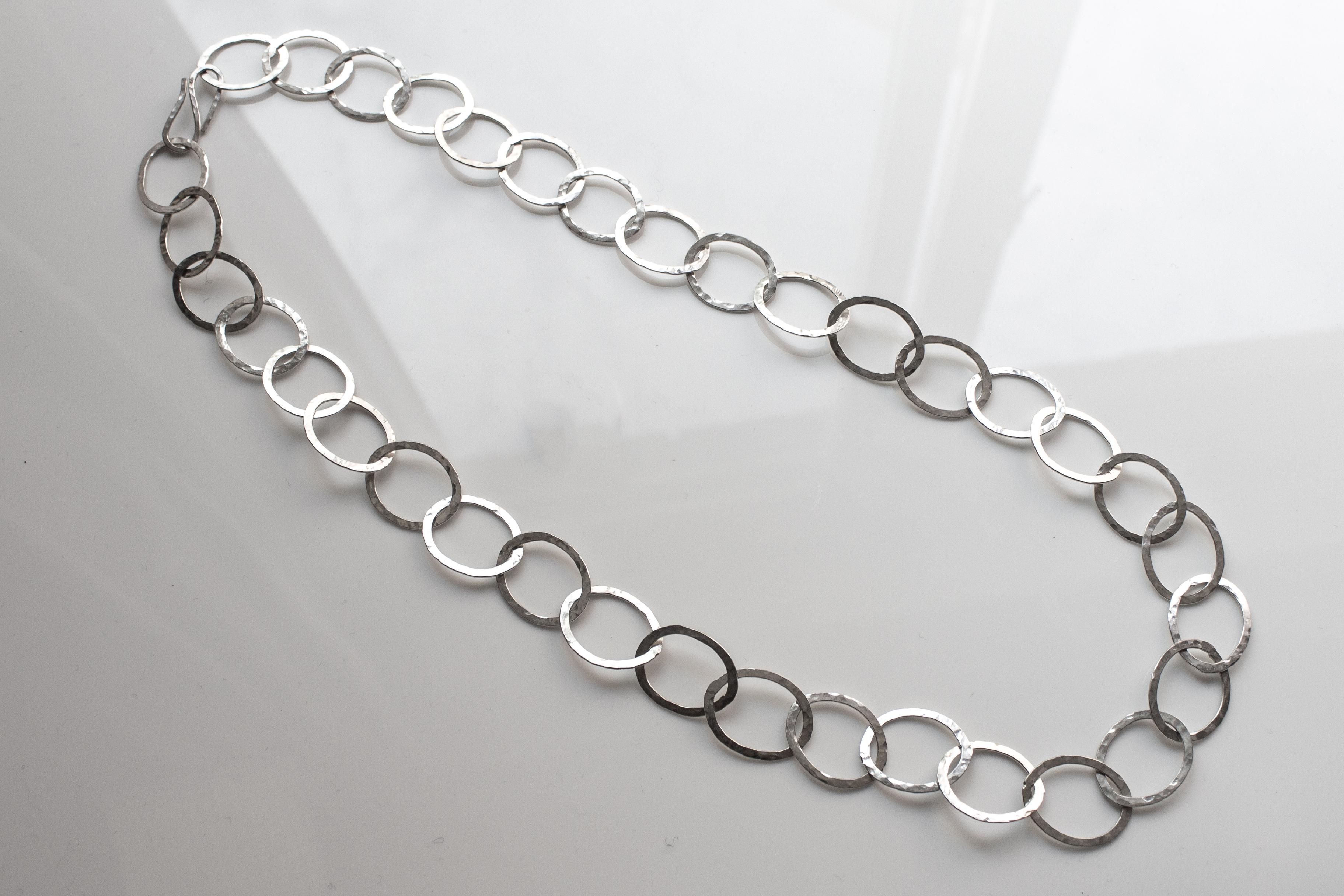 chain oval medium even