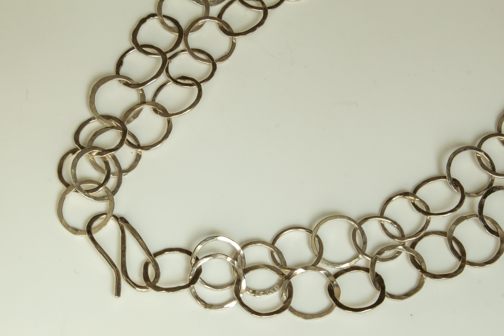 chain roundn small double clasp
