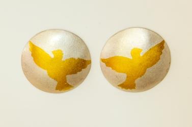 earrings dove KB