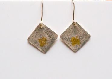 earrings drop moonscape KB