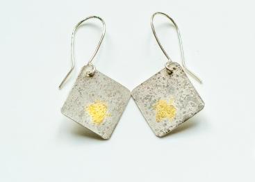 earrings drop square KB