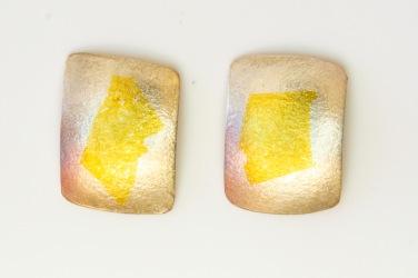 earrings rectangular KB