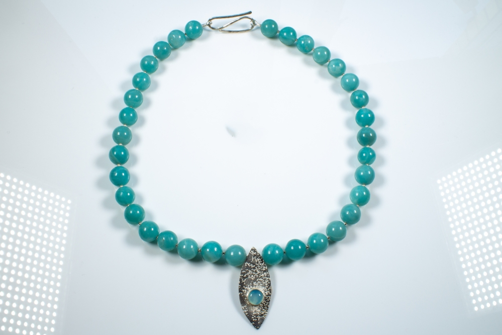 necklace amazonite 2