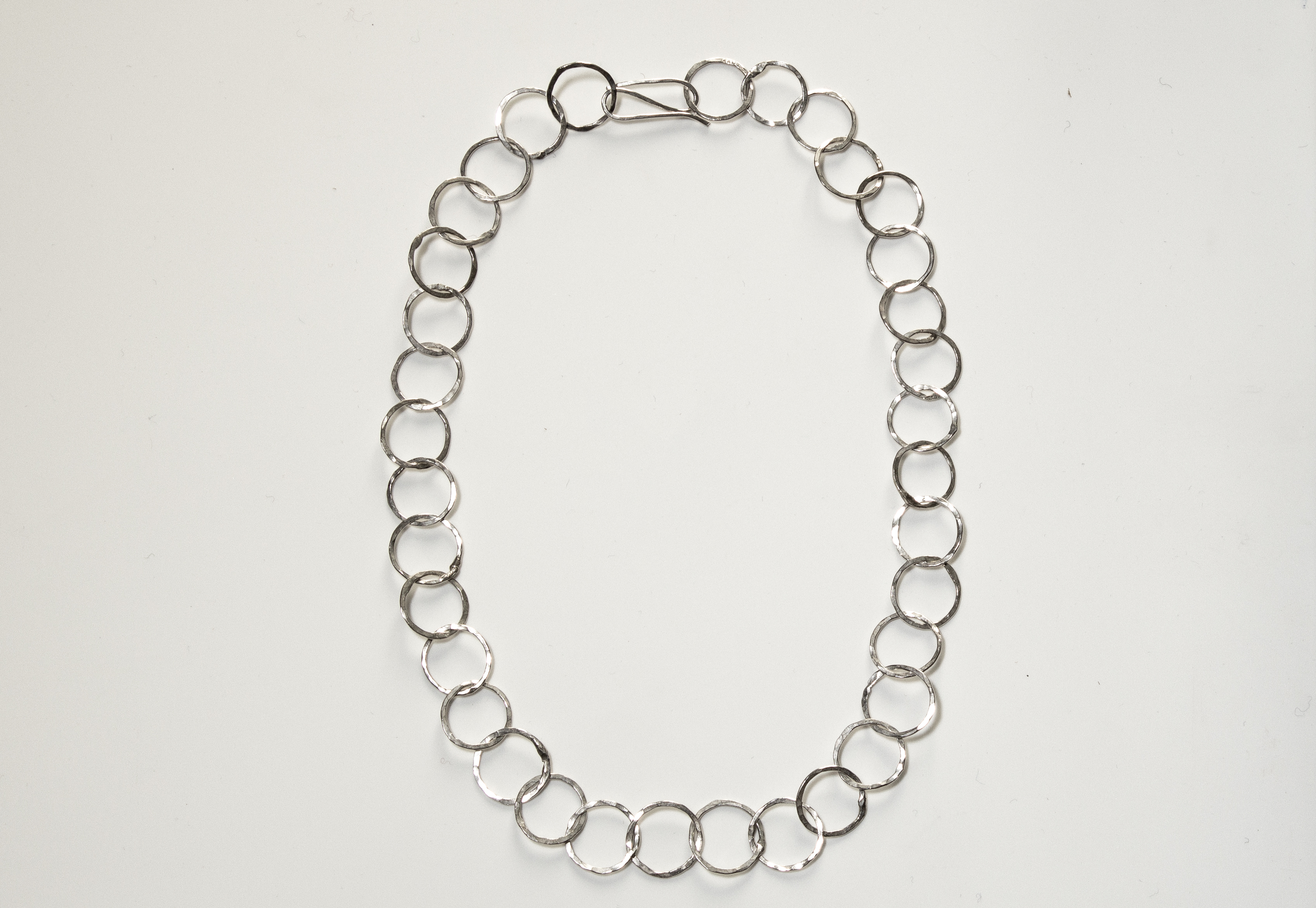 necklace small rings short