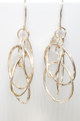 earrings 4 dancing hoops