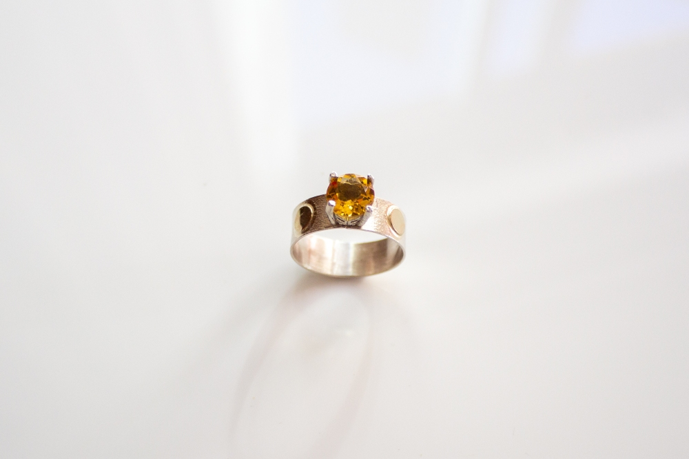ring citrine dots 2