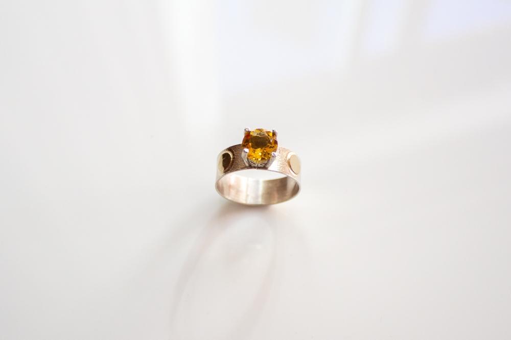 ring citrine dots 2