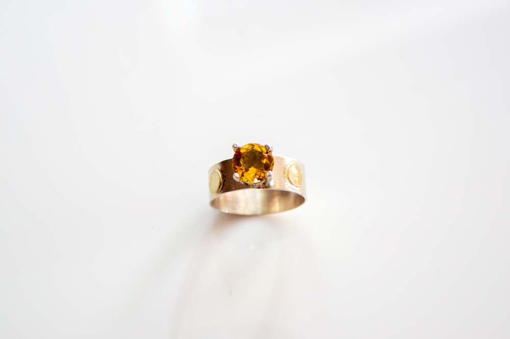 ring citrine dots 3