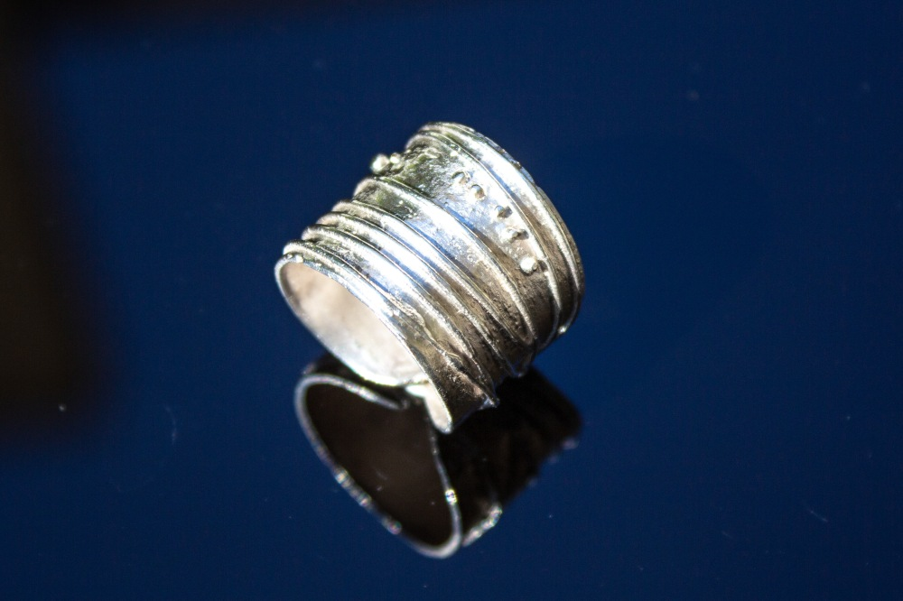 ring free form 1 blk