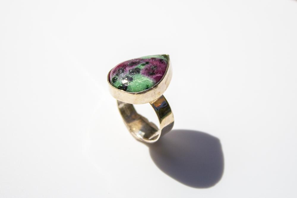 ring heart shape rubi 2