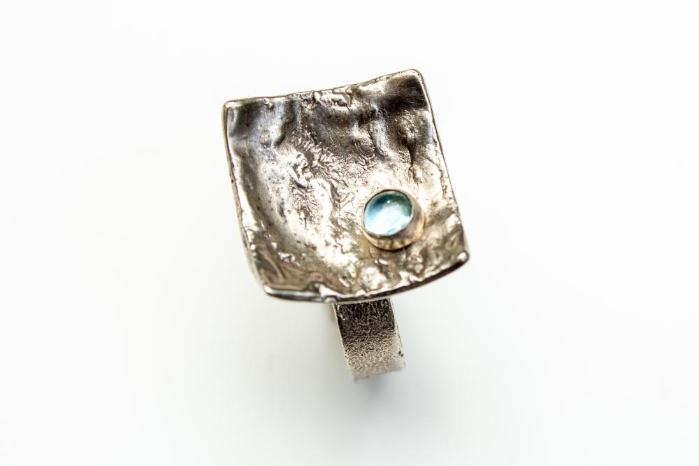 ring liquid silver BT 3