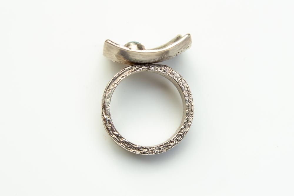 ring liquid silver BT 5