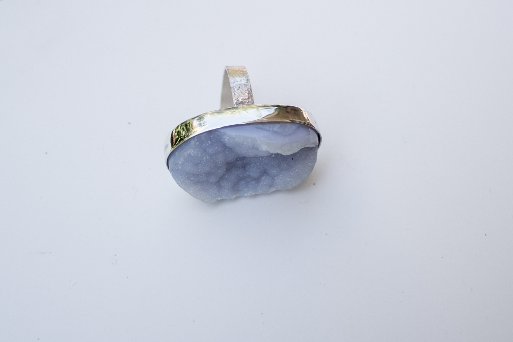 ring drusy chalcedony top 3